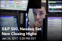 S&P 500, Nasdaq Set New Closing Highs