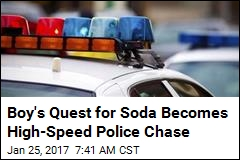 Boy's Quest for Soda Becomes High-Speed Police Chase
