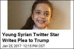 Syrian Girl's Plea to Trump: Will You Save the Children?