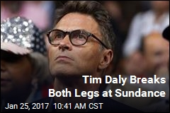 Tim Daly Breaks Both Legs at Sundance