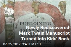 Coming Soon: New Children's Book by Mark Twain