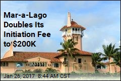 Mar-a-Lago Doubles Its Initiation Fee to $200K