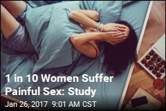 1 in 10 Women Suffer Painful Sex: Study