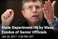 State Department Hit by Mass Exodus of Senior Officials