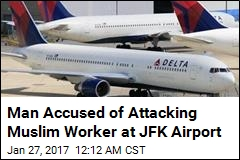 Man Accused of Attacking Muslim Worker at JFK Airport