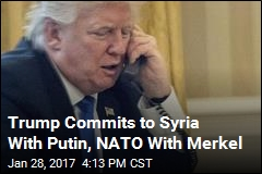 Trump Talks to Putin for 1st Time as President