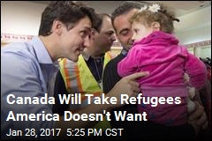 Trudeau Says Canada Will Take Refugees