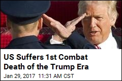 US Suffers 1st Combat Death of the Trump Era