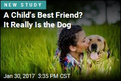 Kids Like Dogs Better Than Siblings