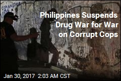 Philippines Puts Drug War on Hold