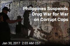 Philippines Puts Drug War on Hold