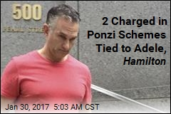 2 Charged in Ponzi Schemes Tied to Adele, Hamilton
