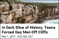 In Dark Slice of History, Teens Forced Gay Men Off Cliffs