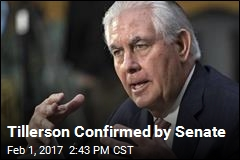 Senate Confirms Tillerson as Secretary of State