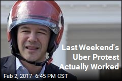 #DeleteUber Succes: CEO Pulls Out of Trump Council