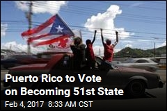 Puerto Rico to Vote on Becoming 51st State