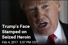 Trump's Likeness Found on Seized Heroin