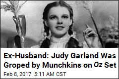 Memoir: Judy Garland Was Groped by Munchkins