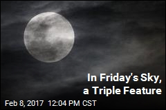 In Friday's Sky, a Triple Feature