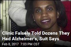 Clinic Falsely Told Dozens They Had Alzheimer's, Suit Says