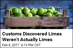 Customs Discovered Limes Weren't Actually Limes
