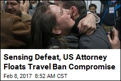 Sensing Defeat, US Attorney Floats Travel Ban Compromise