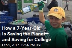 7-Year-Old Is Saving the Planet One Bottle at a Time