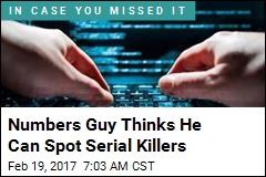 Numbers Guy Thinks He Can Spot Serial Killers
