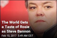 What Would Rosie Looks Like as Steve Bannon? Now We Know