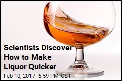 New Use for Ultrasound: Quick Booze