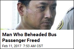 Man Who Beheaded Bus Passenger Freed