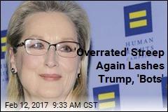 Streep Again Rips Trump, 'Brownshirts'