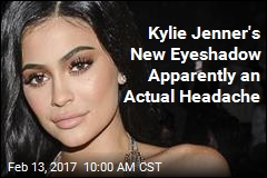 Kylie Jenner's New Eyeshadow Apparently an Actual Headache