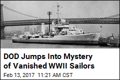 DOD Jumps Into Mystery of Vanished WWII Sailors