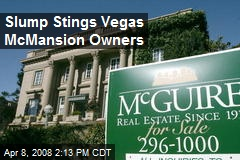 Slump Stings Vegas McMansion Owners