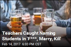 Teachers Caught Naming Students in 'F***, Marry, Kill'