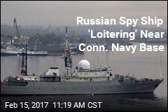 Russian Spy Ship 'Loitering' Near Conn. Navy Base
