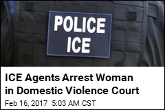 ICE Agents Arrest Woman in Domestic Violence Court
