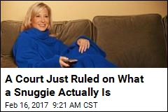 Blanket vs. Robe ? Court Rules on Fate of the Snuggie