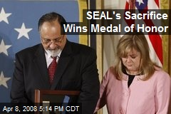SEAL's Sacrifice Wins Medal of Honor