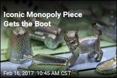 Monopoly's Thimble Gets the Boot