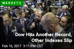 Dow Hits Another Record, Other Indexes Slip