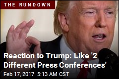 Media Fires Back at Trump After 'Bizarre' Conference