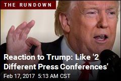 Media Fires Back at Trump After 'Bizarre' Conference