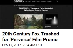 How Not to Do a Film Promo: Set Up 'Fake News' Websites