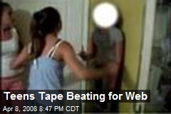 Teens Tape Beating for Web