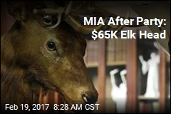 MIA After Party: $65K Elk Head
