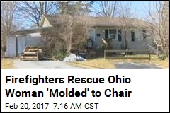 Firefighters Rescue Ohio Woman 'Molded' to Chair