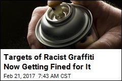 They Were Targets of Racist Graffiti—and Now Face a Fine