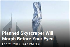 Planned Skyscraper Will Morph Before Your Eyes